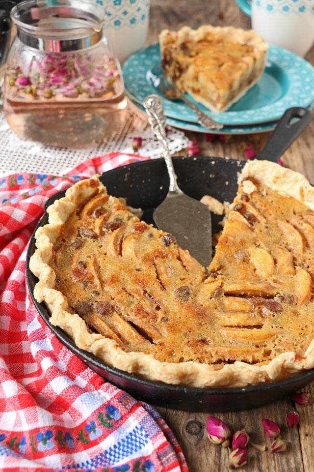 Apple Custard Pie Recipe