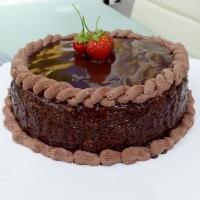 Hazelnut-cake