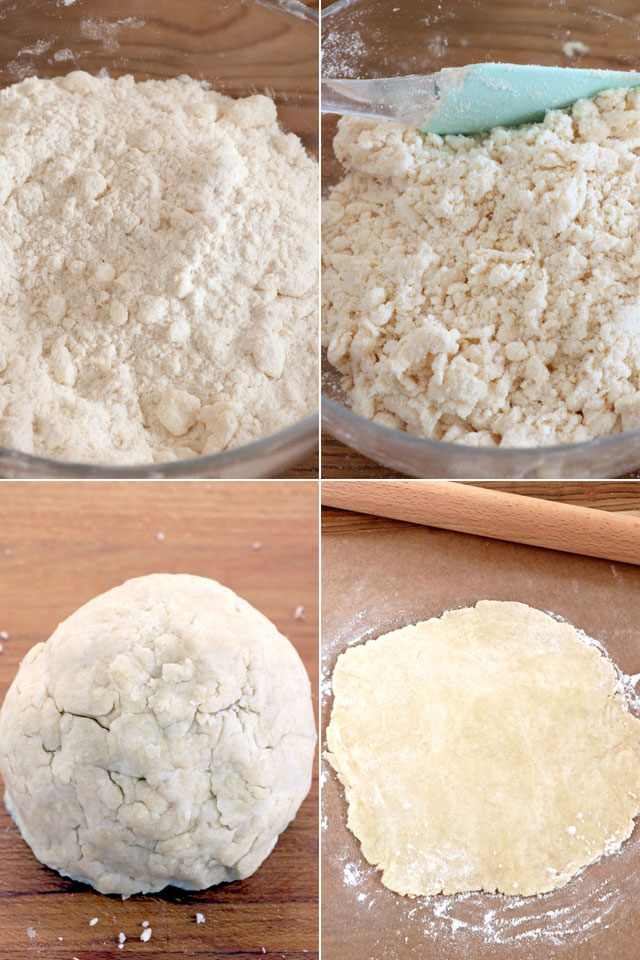 how to make flaky pie crust.