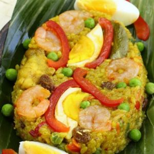 Simple Arroz Valenciana Biringhe