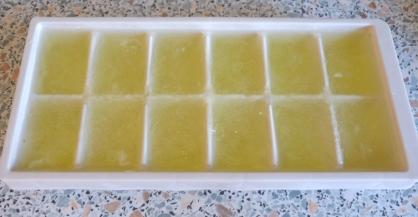 Egg white cubes