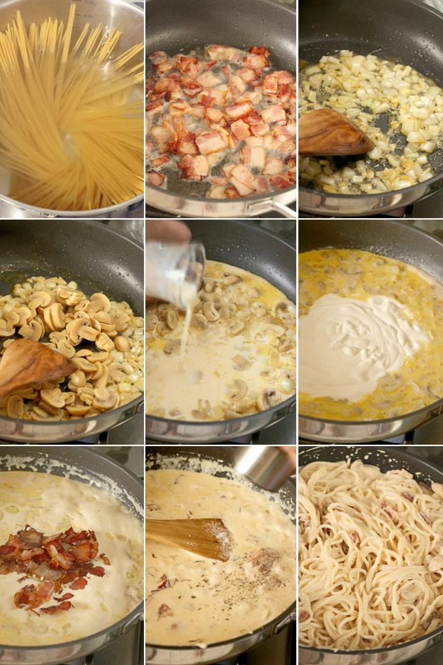 How to make Carbonara