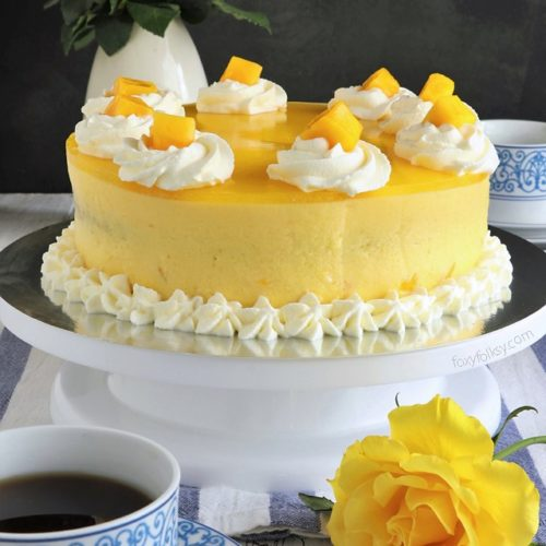 Mango Cake Recipe | Foxy Folksy
