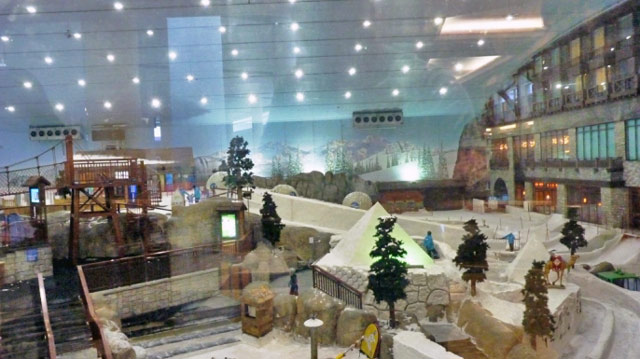 Dubai Mall of the Emirates Ski