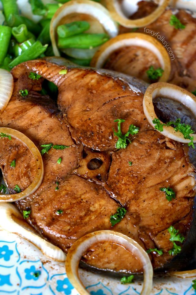 fish steak recipe