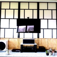 Wall design – Japanese inspired