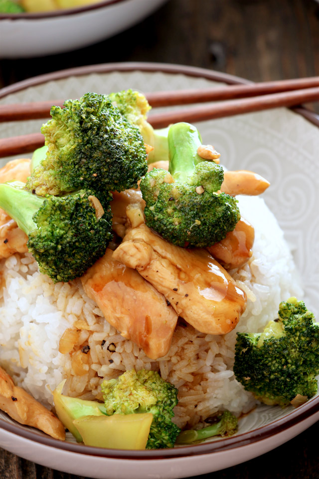 Chicken Broccoli Rice Topping