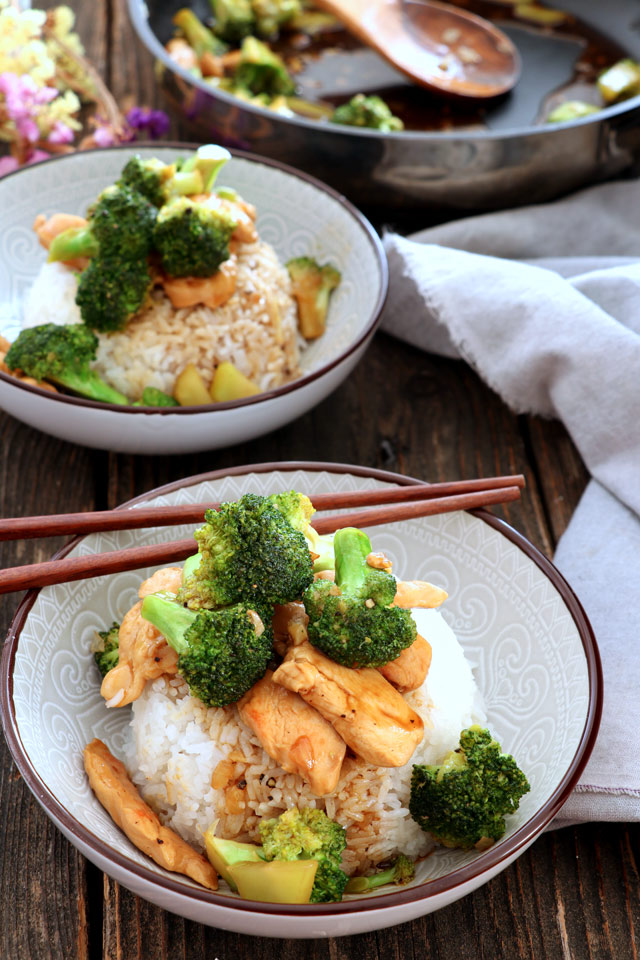 Chicken Broccoli Rice Toppings