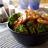 Chicken-broccoli-rice-topping