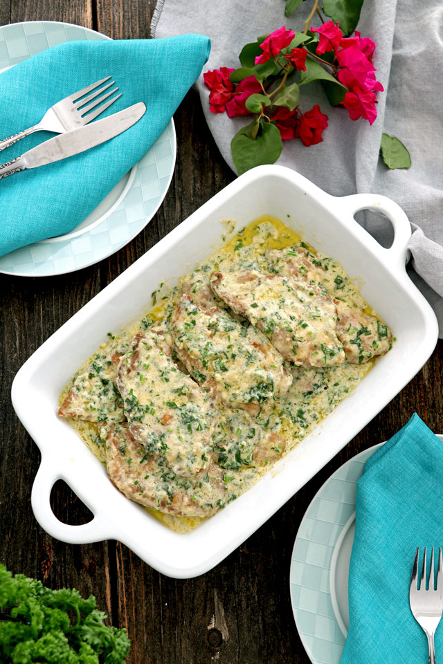 Creamy Cilantro Chicken Recipe