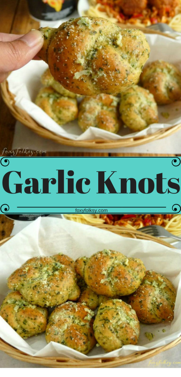 Learn how to make easy, fun to make garlic knots and check our Youtube Video. These garlicky knots are smelling heavenly and they are fluffy and so flavorful. 