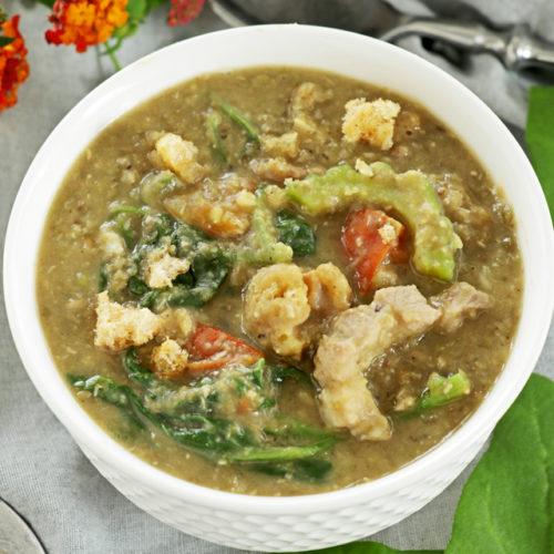 Mung Bean Soup - Filipino Style