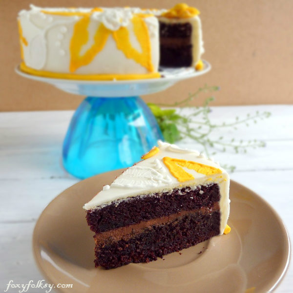 Very Chocolate Cake In Marshmallow Fondant Part I Chocolate Cake Recipe