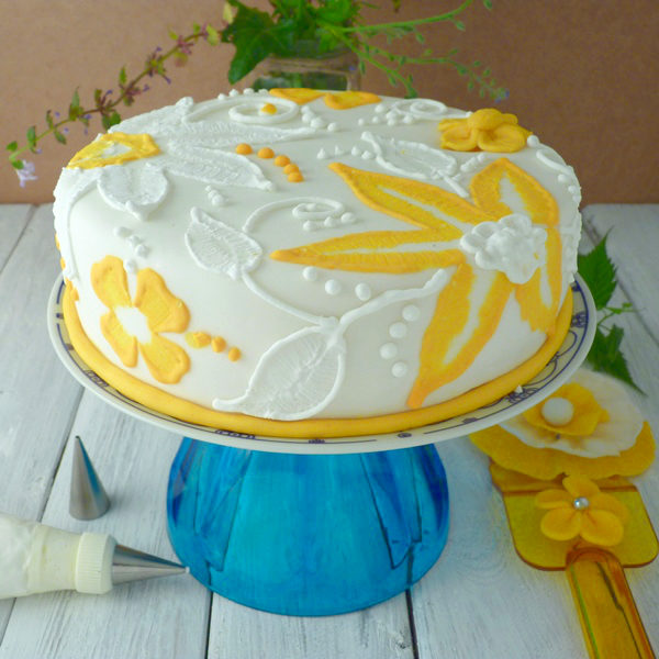 Very Chocolate Cake in Marshmallow Fondant - Part I - Chocolate Cake ...