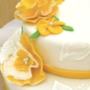 How to design a cake without using fondant tools