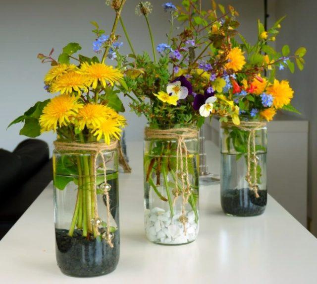 mason jar flower vase (1)