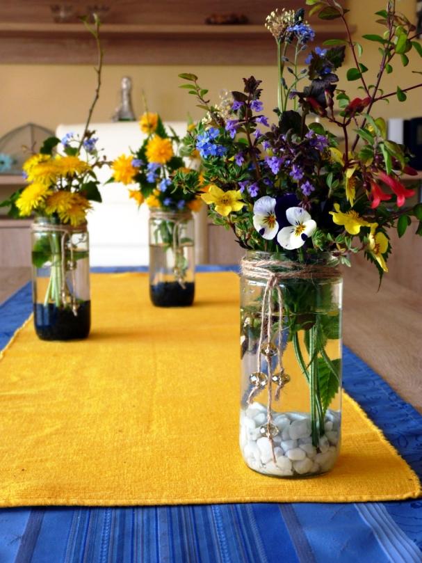 Rustic Flower Vases from Mason Jars on jar art, jar lamp, white flowers in vase, jar box, jar candles, jar decorations, jar small vase, blue flowers in a vase, jar chandelier, jar lights, jar flower centerpieces,