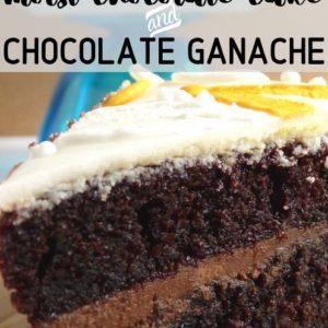 How to make Moist chocolate and chocolate ganache