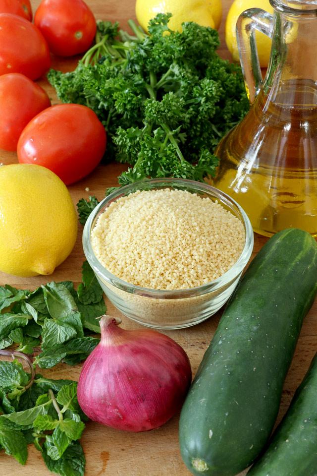 Taboulleh Ingredients