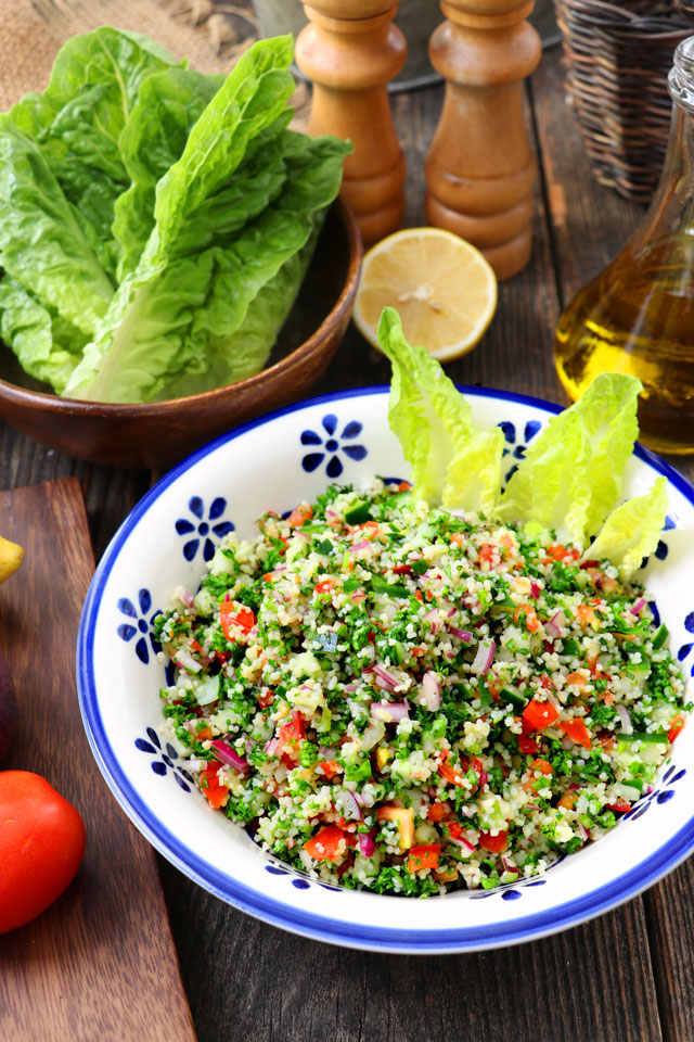 Tabbouleh Salad using Couscous