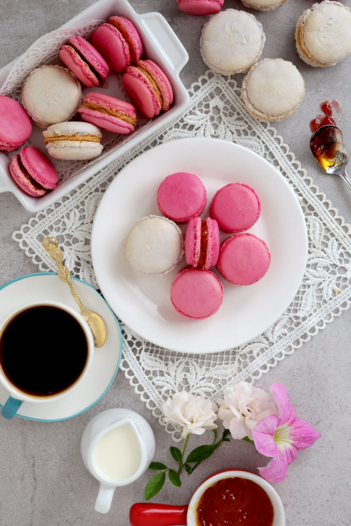easy homemade french macarons with lesser sugar