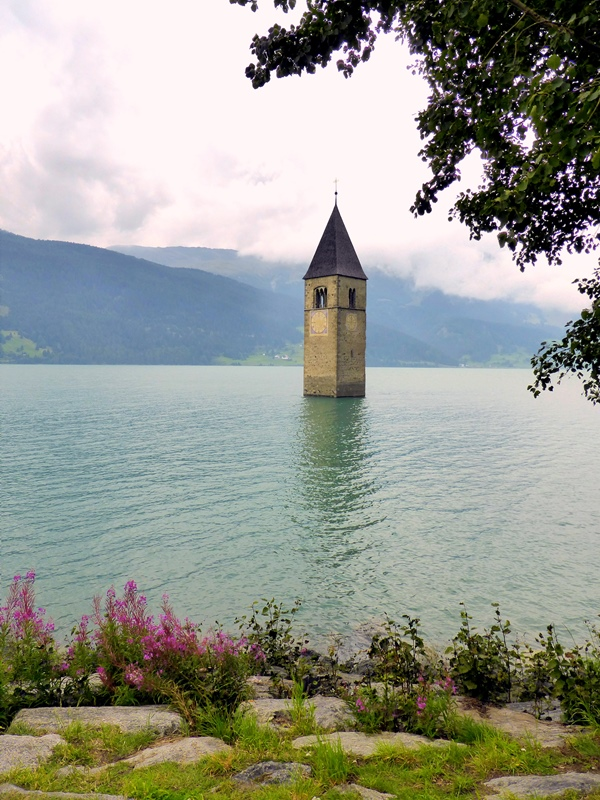 Lake Reschen, South Tyrol