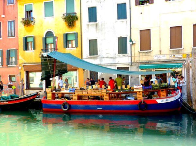 floating market , Venice