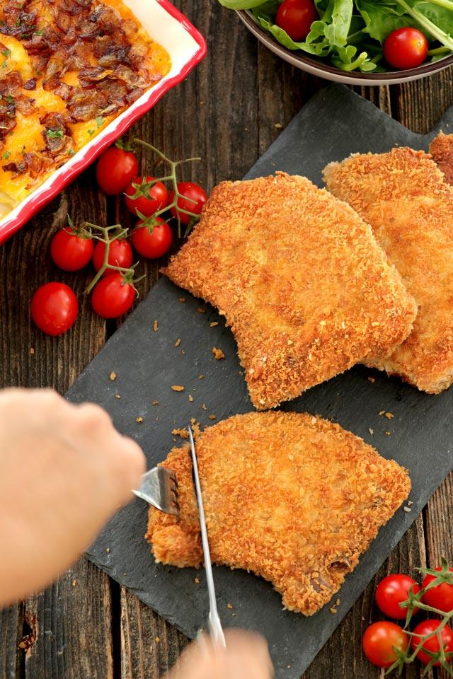Crispy Fried Breaded Pork Chops | Foxy Folksy