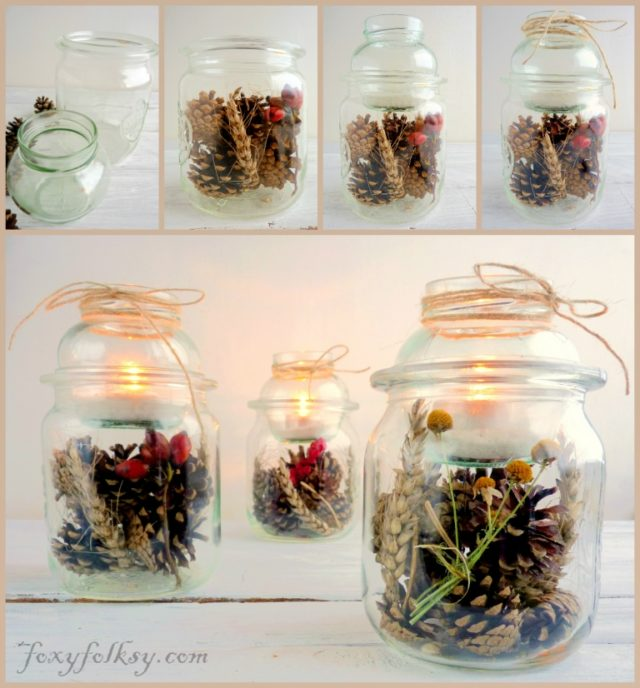 table lantern jars (5)