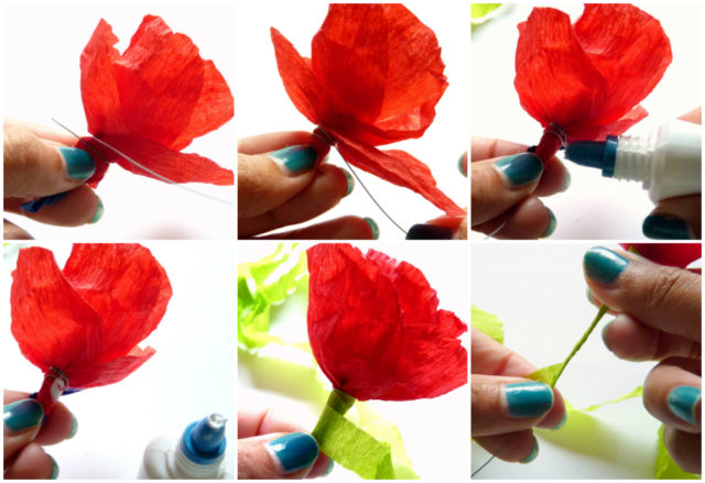 DIY Project Autumn Wedding How To Make Paper Flowers Part 1