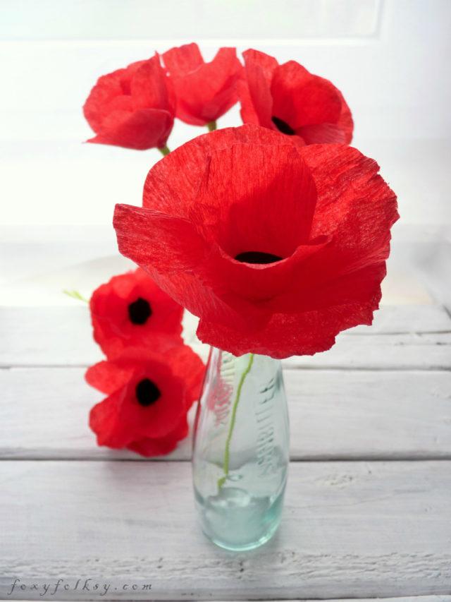 poppy-paper-flower
