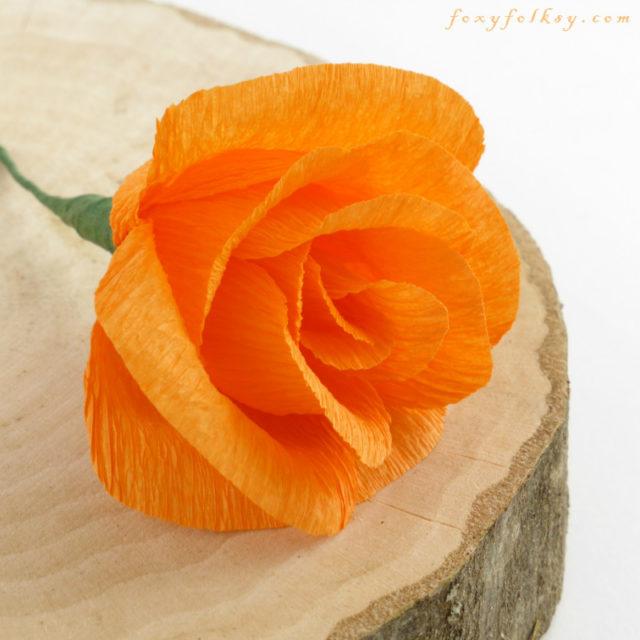paper flower-rose