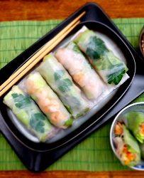 Vietnamese-springrolls