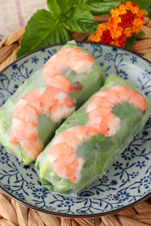 Simple Vietnamese Spring Rolls Recipe