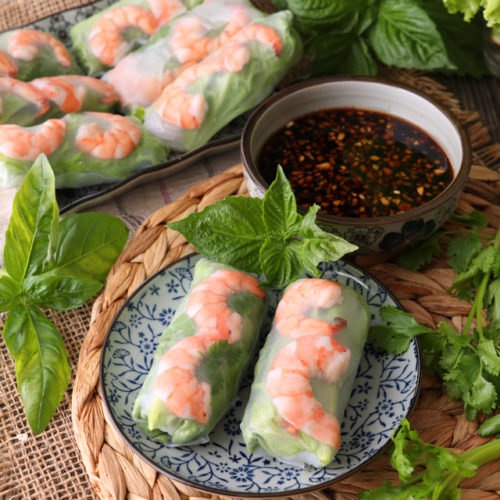 Simple Vietnamese Spring Rolls Recipe