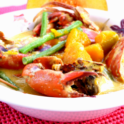 Crabs in Coconut Milk (Ginataang Alimango)