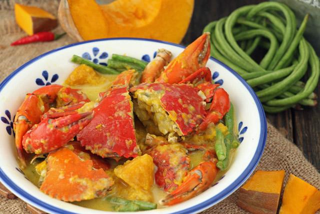 Ginataang Alimango with Squash