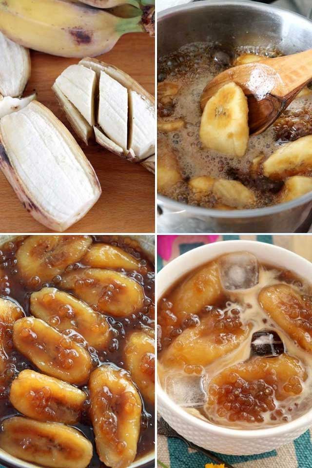 procedures on how to cook minatamis na saging