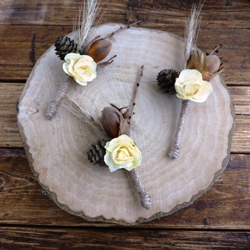 DIY Project Autumn Wedding: DIY Boutonniere