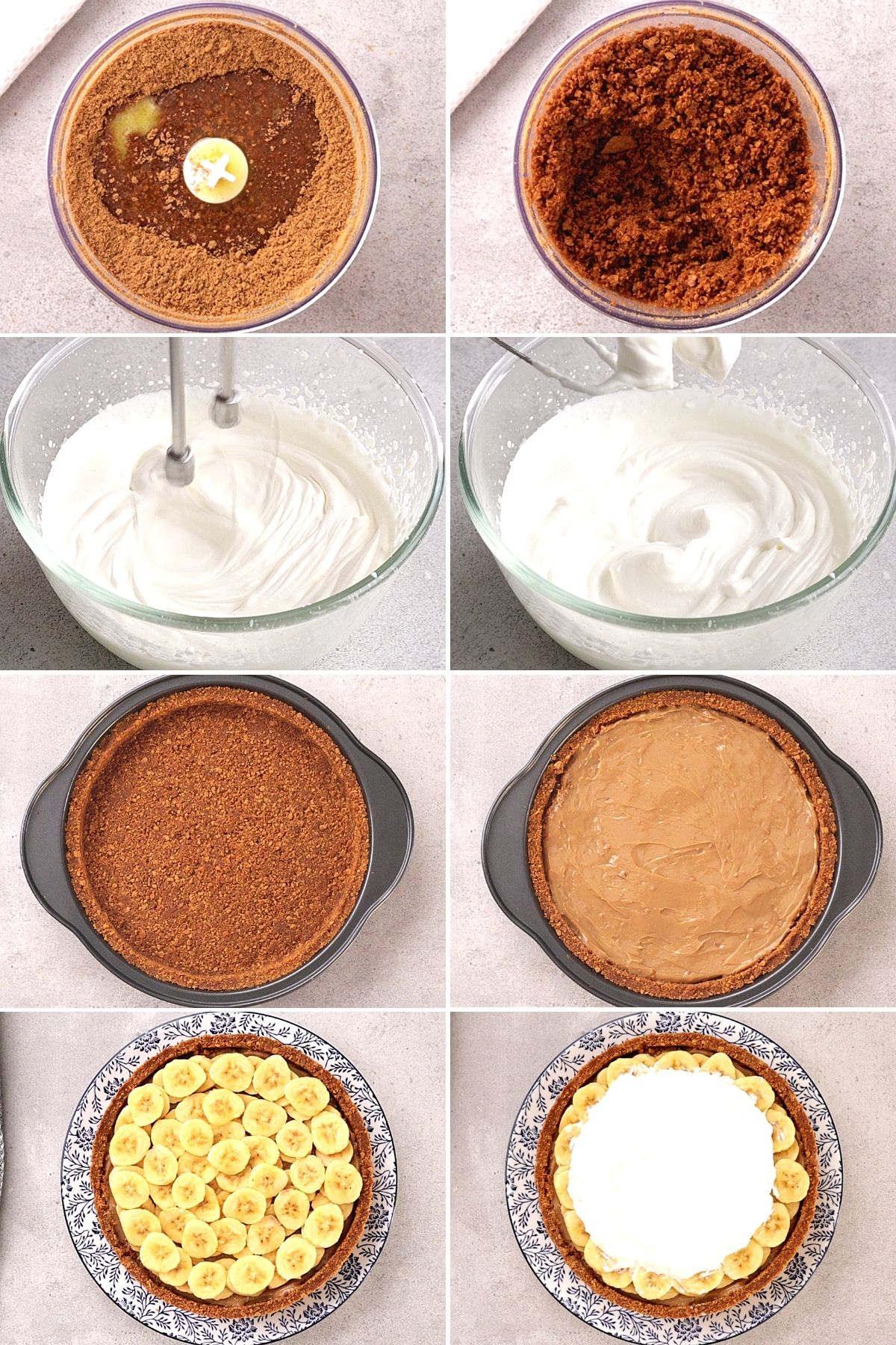 How to make Banoffee Pie Step-by-step