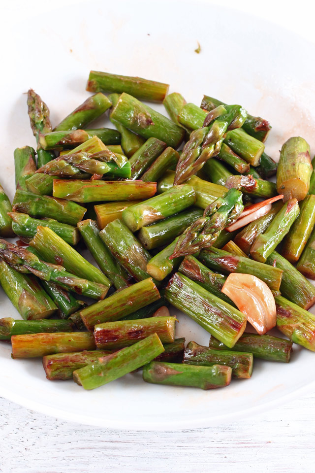 Garlic Asparagus Pasta