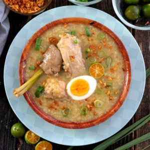 Arroz Caldo Recipe with lemongrass