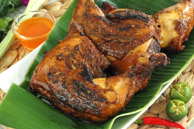 juicy and delicious Filipino chicken barbeque
