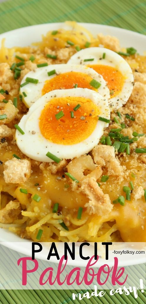 This recipe of Pancit Palabok is really simple one requiring the most simple ingredient from the yellow thick sauce and basic toppings but still delicious. | www.foxyfolksy.com #recipe #filipinofood #foxyfolksy