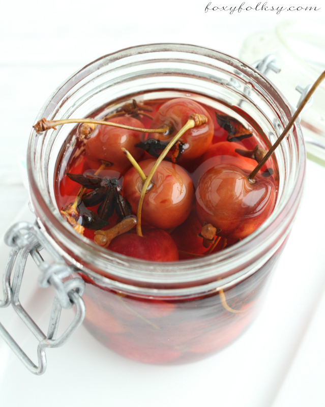 pickled cherry