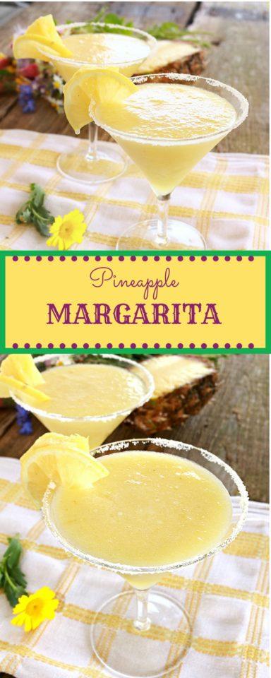 pineapple margarita pin