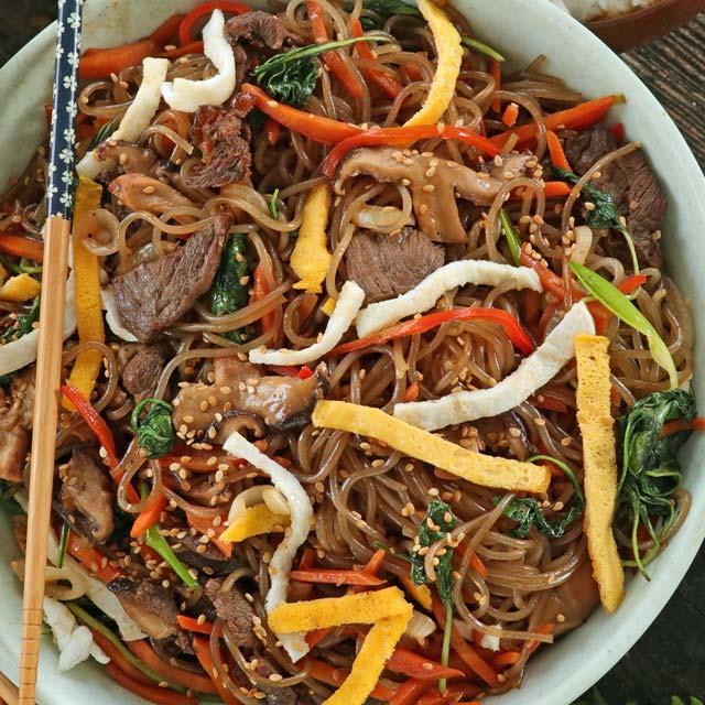 easy japchae recipe philippines Japchae made Easy