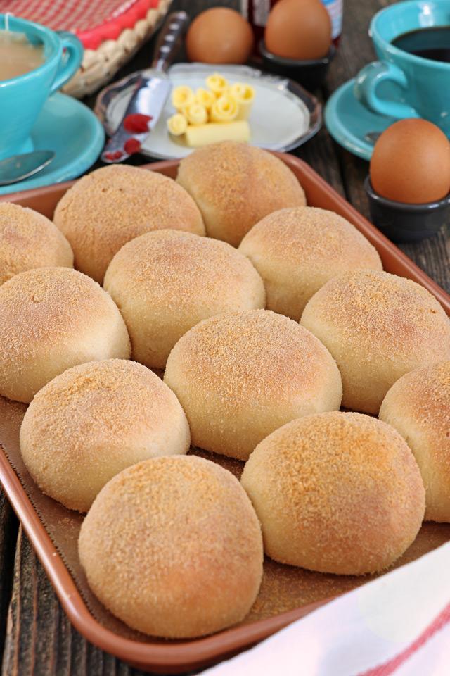 Freshly baked Pandesal