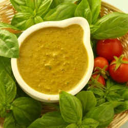 Fresh Tomato and Basil Pesto