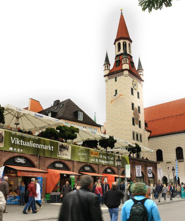 Viktualienmarkt - Münich
